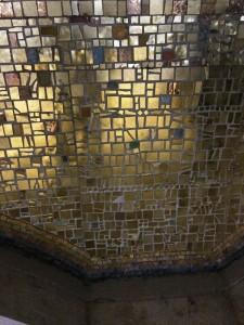 """фрагмент мозаики купола собора """"Святого Саввы в Белграде"""""""